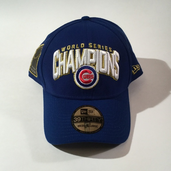 5e0946425f2 New Era Chicago Cubs World Series Champions Cap ML